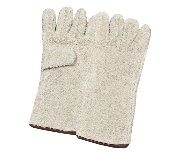 Terry Cotton Gloves Gauntlets