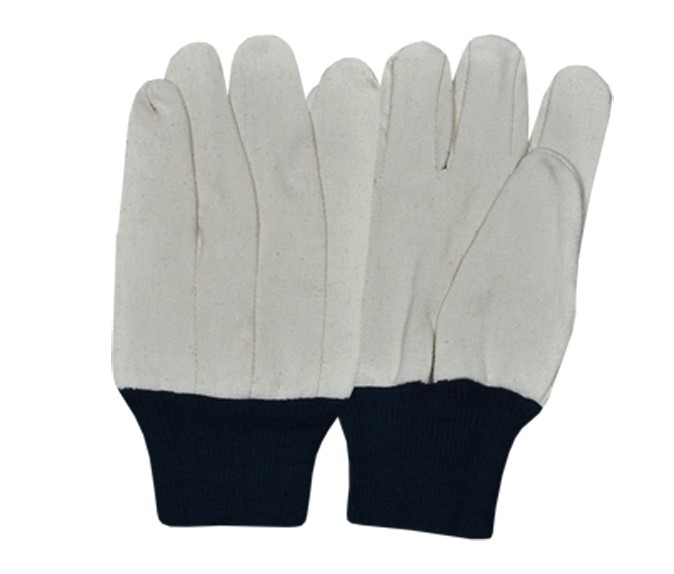 Drill Gloves Straight Thumb Style With Blue K/W