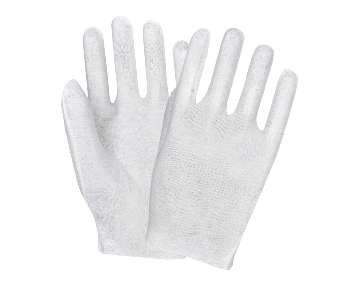 White Reversible Gloves