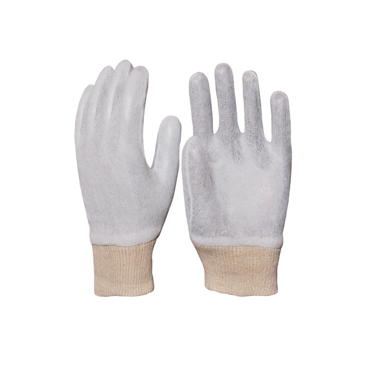 Cotton Interlock White Gloves