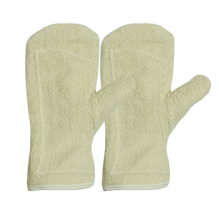 Cotton Terry Mitten Gloves