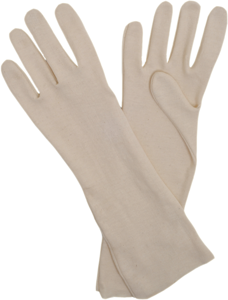 Cotton Interlock Liner Gloves Open cuff