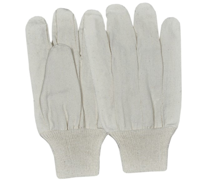 Drill Gloves With Knitted Wrist Straight Thumb St