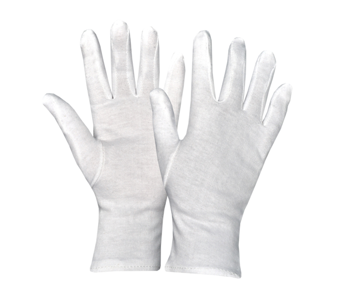 white Fourchette Gloves