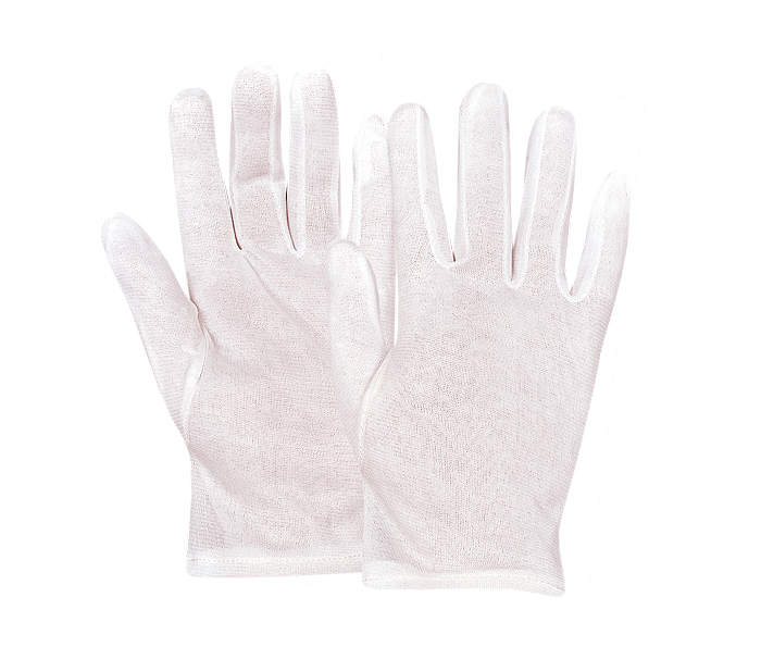 Nylon Perlon Gloves Fourchette Style