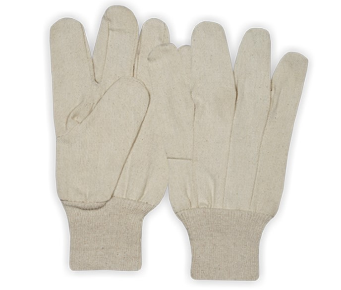 Drill Gloves With Knitted Wrist Wing Thumb Style