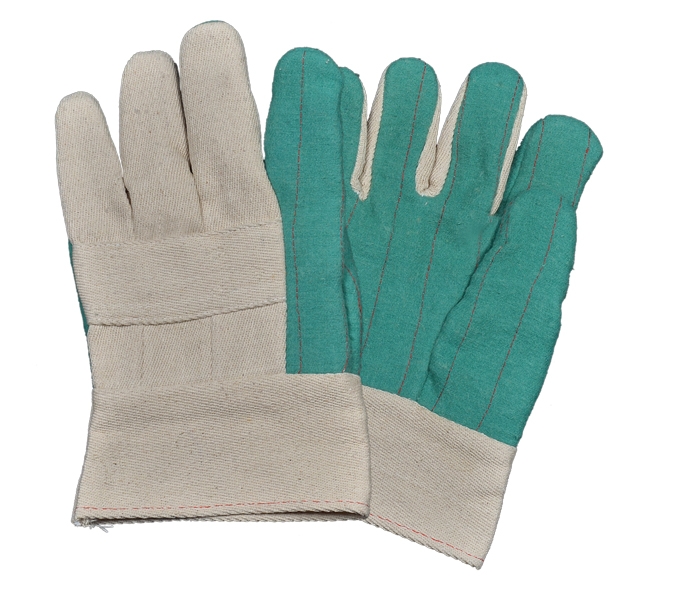 Heavy Weight Green Hotmill Gloves Band Top & Gaunt