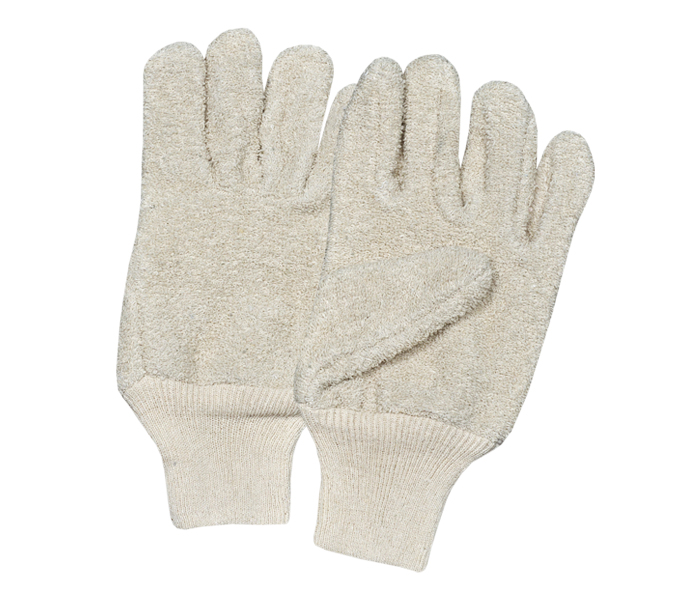 Terry Cotton Gloves With K/W