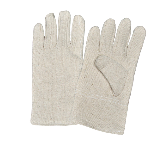 Jersey Gloves Fourchette Style Double Palm